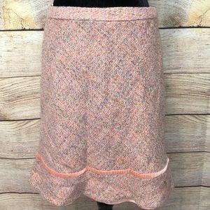 Gap Lined Wool Skirt